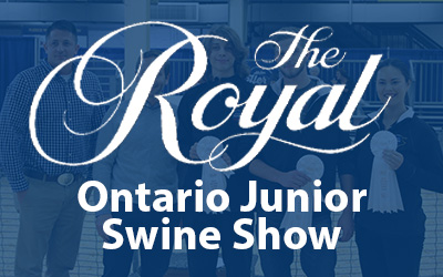 Ontario Junior Swine Show 2019