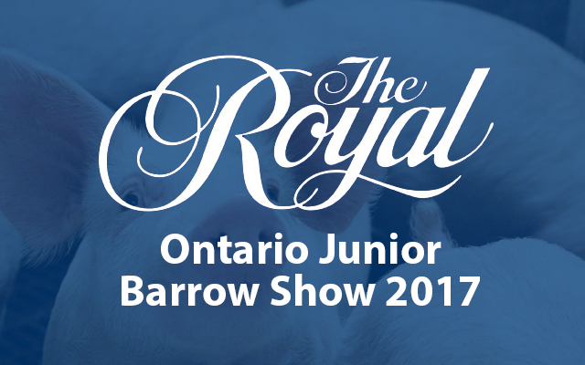 Ontario Junior Barrow Show 2017