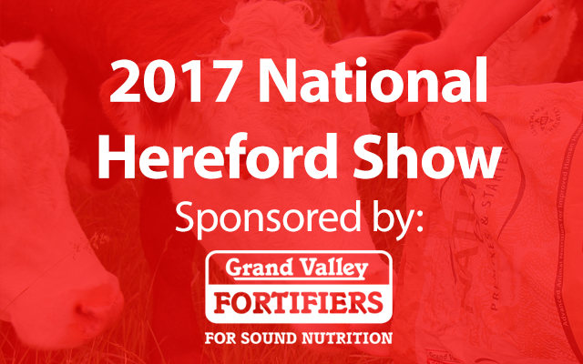 2017 National Hereford Show